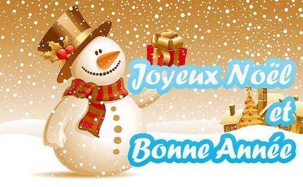 Image De Joyeux Noel 2019.Joyeux Noel Et Bonne Et Heureuse Annee 2019